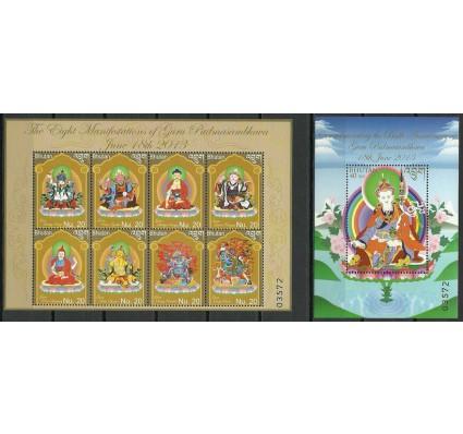 Znaczek Bhutan 2013 Mi ark 2678-2685+bl 516 Czyste **