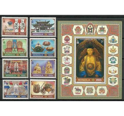 Znaczek Mongolia 2014 Mi 3908-3915+bl 417 Czyste **
