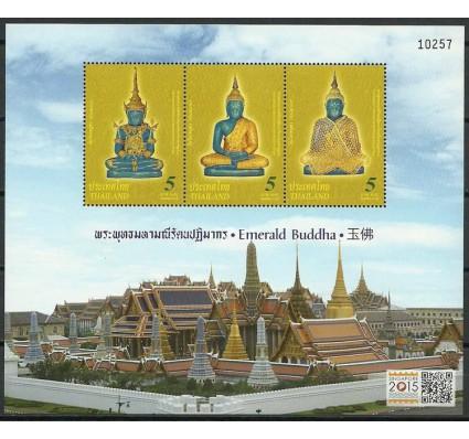 Znaczek Tajlandia 2015 Mi bl 334I Czyste **
