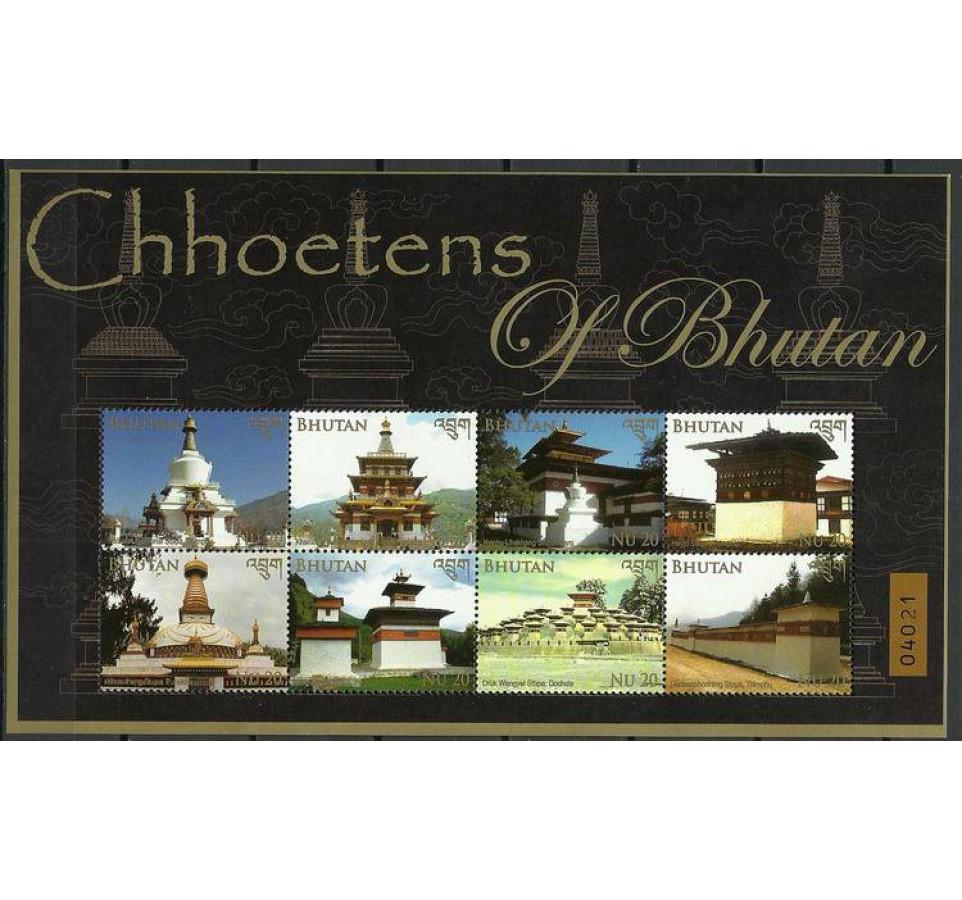 Bhutan 2014 Mi ark 2710-2717 Czyste **