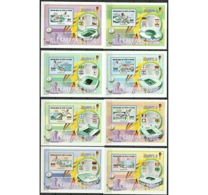 Znaczek Wybrzeże Kości Słoniowej 2005 Mi bl 143-150 Czyste **