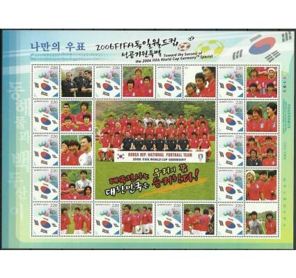 Znaczek Korea Południowa 2006 Mi ark 2520 Czyste **