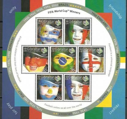 Znaczek Gibraltar 2006 Mi ark 1158-1164 Czyste **