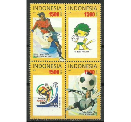 Znaczek Indonezja 2010 Mi 2822-2825 Czyste **