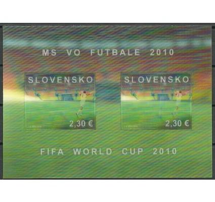 Znaczek Słowacja 2010 Mi bl 34 Czyste **