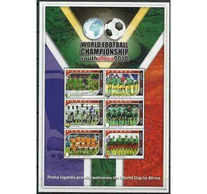 Znaczek Uganda 2011 Mi ark 2748-2753 Czyste **