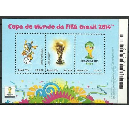 Znaczek Brazylia 2014 Mi bl 169 Czyste **