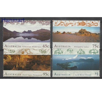 Znaczek Australia 1996 Mi 1536-1539 Czyste **