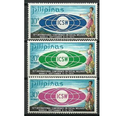 Znaczek Filipiny 1970 Mi 925-927 Czyste **