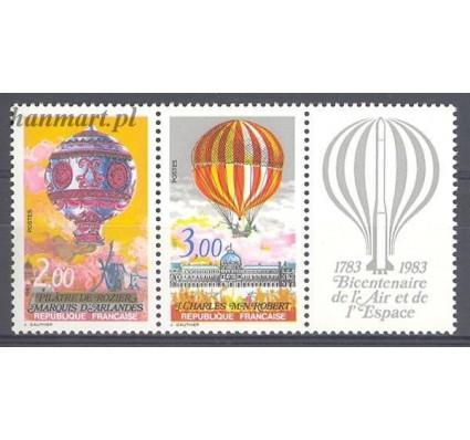 Francja 1983 Mi 2387-2388 Czyste **