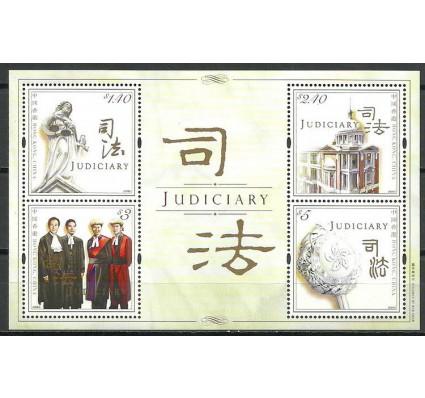 Znaczek Hong Kong 2008 Mi bl 193 Czyste **