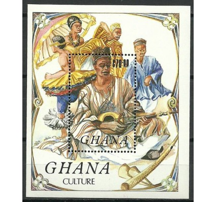 Znaczek Ghana 1984 Mi bl 113 Czyste **