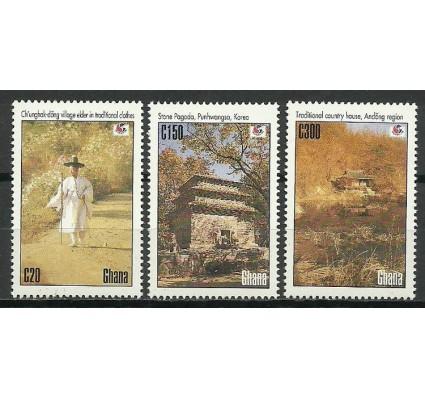 Znaczek Ghana 1994 Mi 2051-2053 Czyste **