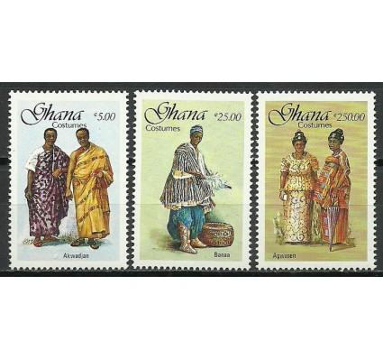 Znaczek Ghana 1988 Mi 1190-1192 Czyste **
