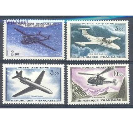 Znaczek Francja 1960 Mi 1279-1282 Czyste **