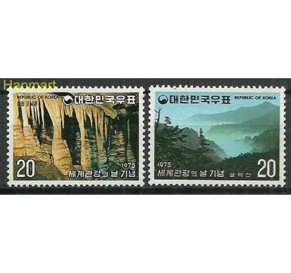 Znaczek Korea Południowa 1975 Mi 1005-1006 Czyste **