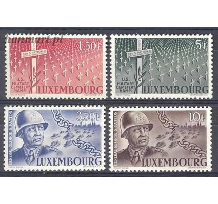 Luksemburg 1947 Mi 423-426 Czyste **