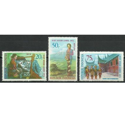 Znaczek Indonezja 1971 Mi 685-687 Czyste **