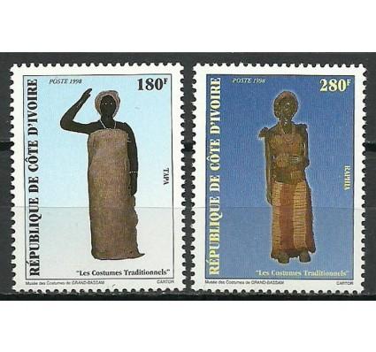 Znaczek Wybrzeże Kości Słoniowej 1998 Mi 1199-1200 Czyste **