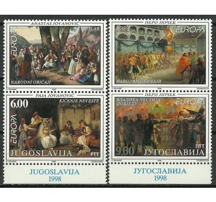Znaczek Jugosławia 1998 Mi zf 2855-2856 Czyste **