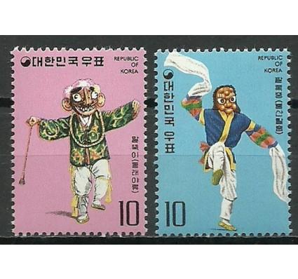 Znaczek Korea Południowa 1975 Mi 981-982 Czyste **
