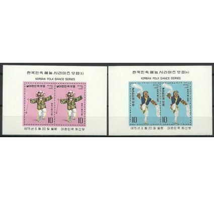 Znaczek Korea Południowa 1975 Mi bl 406-407 Czyste **