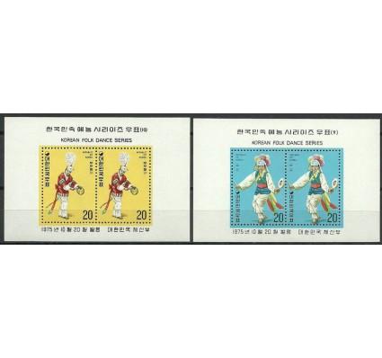 Znaczek Korea Południowa 1975 Mi bl411-412 Czyste **