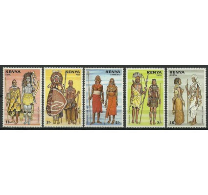Znaczek Kenia 1987 Mi 393-397 Czyste **