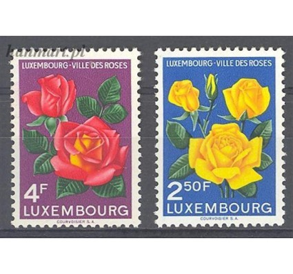 Luksemburg 1956 Mi 549-550 Czyste **