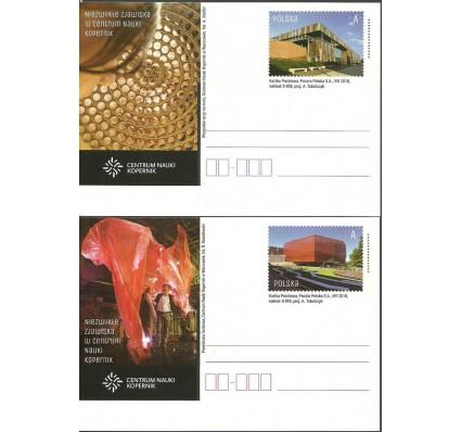 Znaczek Polska 2018 Fi Cp 1828-1829 Całostka pocztowa