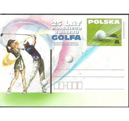 Znaczek Polska 2018 Fi Cp 1824 Całostka pocztowa