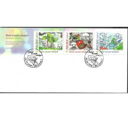 Znaczek Polska 2018 Mi 5016-5018 FDC