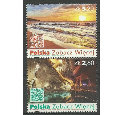 Znaczek Polska 2018 Mi 5000-5001 Fi 4850-4851 Czyste **