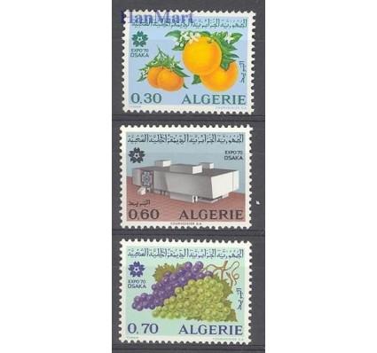 Znaczek Algieria 1970 Mi 548-550 Czyste **