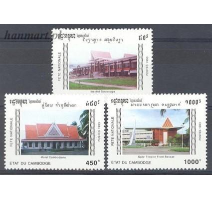 Kambodża 1993 Mi 1332-1334 Czyste **