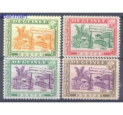 Znaczek Gwinea 1965 Mi 286-289 Czyste **