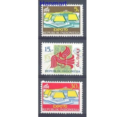 Znaczek Indonezja 1970 Mi 665-667 Czyste **