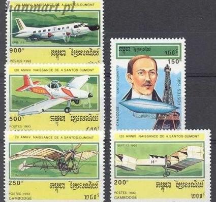 Kambodża 1993 Mi 1371-1372 Czyste **