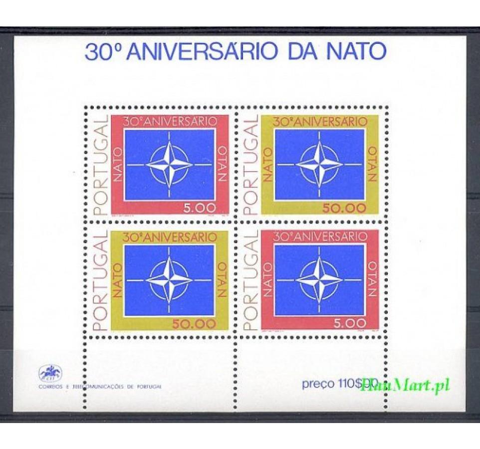 Portugalia 1979 Mi bl 26 Czyste **
