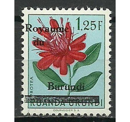 Znaczek Burundi 1962 Mi 9 Czyste **