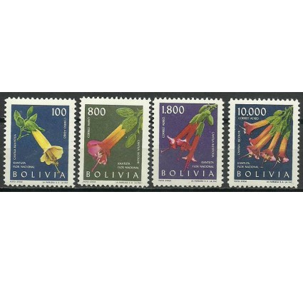 Znaczek Boliwia 1962 Mi 676-679 Czyste **