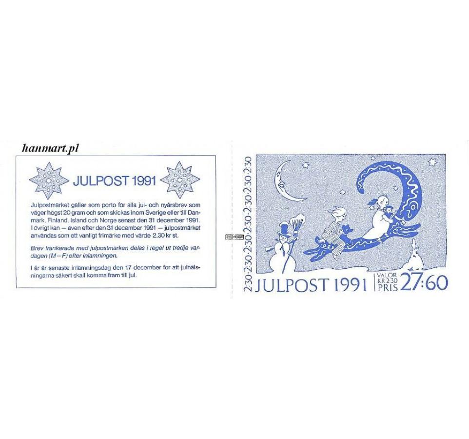 Szwecja 1991 Mi mh 165 Czyste **