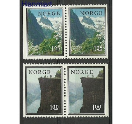 Znaczek Norwegia 1976 Mi 726-727DD Czyste **