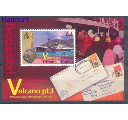 Znaczek Tristan da Cunha 2011 Mi bl 62 Czyste **