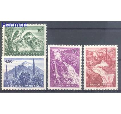Znaczek Rwanda 1966 Mi 189-192 Czyste **
