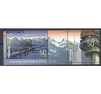 Znaczek Szwajcaria 2015 Mi bl 60 Czyste **