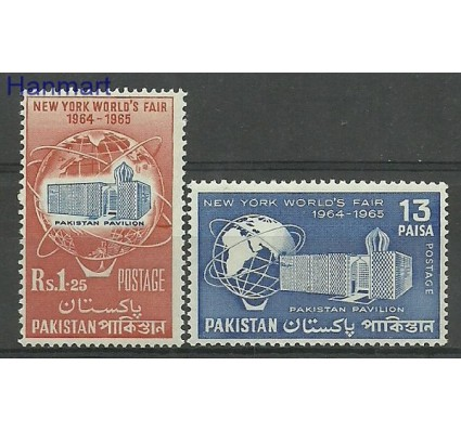 Znaczek Pakistan 1964 Mi 208-209 Czyste **