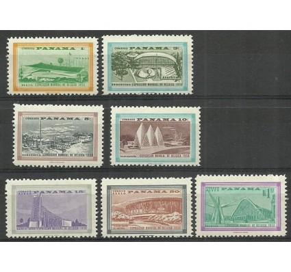 Znaczek Panama 1958 Mi 530-536 Czyste **