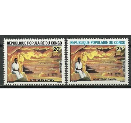 Znaczek Kongo 1981 Mi 850-851 Czyste **