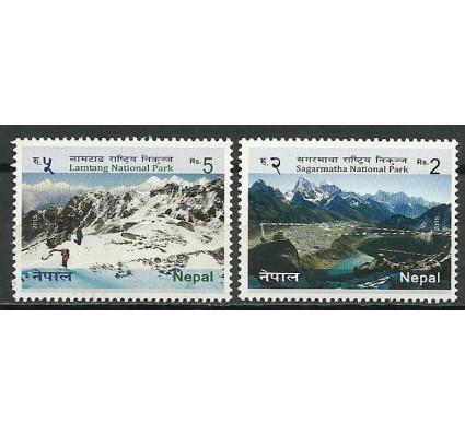 Znaczek Nepal 2015 Mi 1199+1200 Czyste **